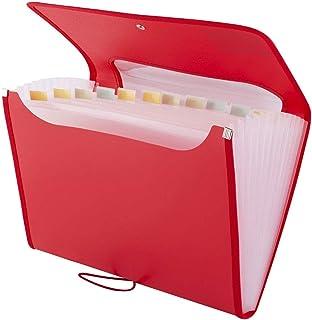 Trieur Extensible 12 Poches A4 D.RECT 5590 Accord/éon Classeur Pochettes Porte-documents Extensible Classeur Documents turquoise