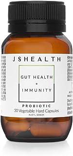 JSHealth Vitamins Gut Health and Immunity Formula | Probiotics for Women and Men | Shelf Stable Probiotic Supplement for Digestive Health and Immune Support (30)