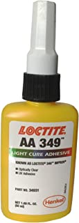 Loctite 34931 Clear/Straw Impruv Light Cure Adhesive, 50 mL Bottle