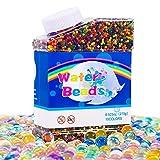 FORMIZON Bolas de Perlas para Decoración Flores, 50.000 Perlas Colores Jarrón de Florero Decoración de Plantas, Decoración Principal