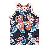 Mitchell & Ness - Camiseta Deportiva para Hombre de la NBA NY Yankees Swingman L