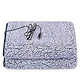 Manta térmica USB lavable a máquina con degradado de color adecuado para viajes, oficina, hogar, exterior y vehículos, elegante, seguro y fácil de limpiar para 70 110 cm