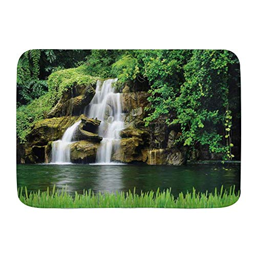 Fußmatten, doppelte Wasserfälle...