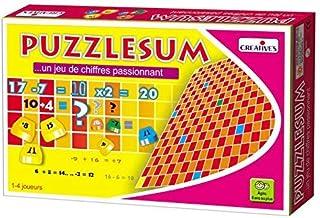 StonKraft Puzzlesum (French) | Language Independent | Preschool Learning Toys | Educational Toys | Learning Games | Matchi...