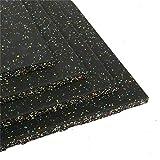 tonchean Eco-Sport Interlocking Tiles, Heavy Duty 25 mm Thick Rubber...