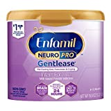 Enfamil NeuroPro Gentlease Baby Formula Milk Powder 19.5 oz. Reusable Tub, For Easing Gas & Crying, Vitamins & Minerals for Immune Support, Infant Formula Inspired by Breast Milk DHA MFGM Iron Non-GMO