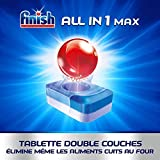 Finish Pastilles Lave-Vaisselle Powerball All in One Max - 100 Tablettes Lave-Vaisselle