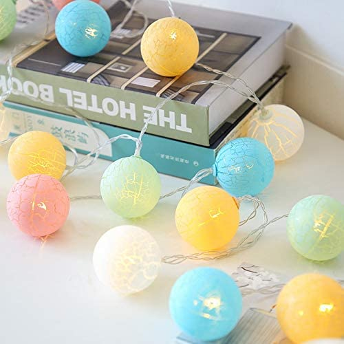 Daliuings Practically Crack Balls Garland Sale Free shipping Special Price Decoratio Light String