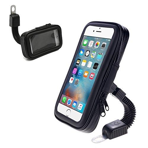 Supporto Staffa telefono per moto borsa impermeabile rotazione 360 gradi linq hd-6355b