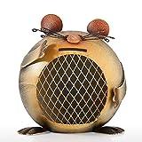 XHAEJ Hucha para niños Money Caja Fuerte, Creativo Hierro Forjado Piggy Bank Lindos Niños Moneda Banco Piggy Bank Artículos para el hogar Artesanía Decoración del hogar Accesorios Piggy Banks