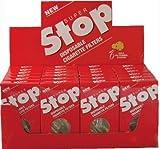 Super Stop Disposable Cigarette Filters - 20 - 30 Count Packs ( 600 Total )