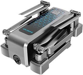 RCドローン4KHDカメラ、Wifi FPVオプティカルフローデュアルカメラ、折りたたみ式4軸ドローン安定化PTZ50倍ズーム,Three battery