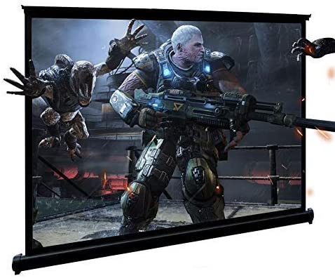 40-inch Portable Projector Limited time trial price Mail order Screen Small S Projection 16:9