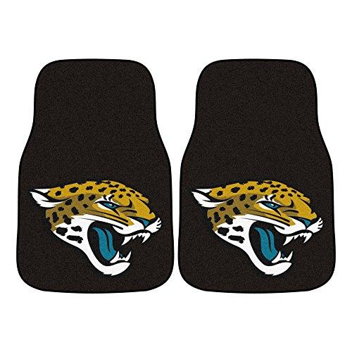 FANMATS NFL Jacksonville Jaguars Nylon Face Carpet Car Mat