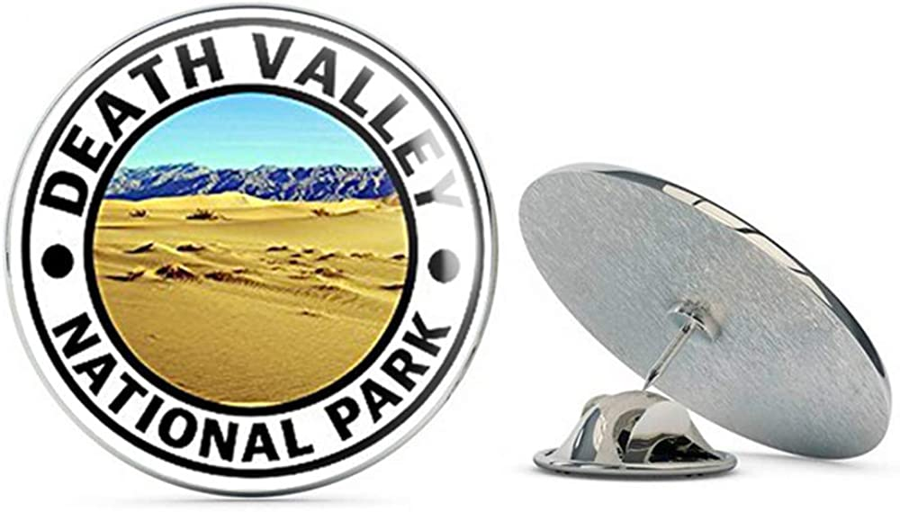 NYC Jewelers Round Death Valley National Park (Hike Travel rv) Metal 0.75