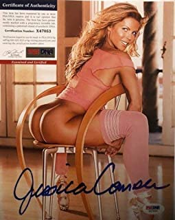 Jessica Canseco Playboy Playmate Autographed Signed 8x10 Photo PSA/DNA