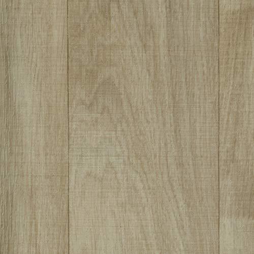 Vinylboden PVC Bodenbelag   Holzoptik Schiffsboden Eiche creme weiß   400 und 500 cm Breite   Meterware   Variante: 7 x 5m