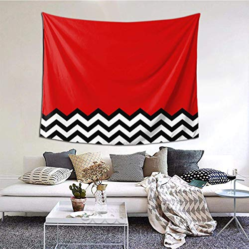 NA Black Lodge Dreams Large Tablecloths Bedroom Living Room Dorm Decoration Tapestry Wall Hangings 80 * 60inches