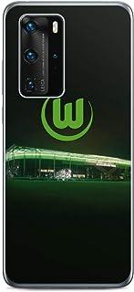 DeinDesign Folie kompatibel mit Huawei P40 Pro Aufkleber Skin aus Vinyl-Folie Offizielles Lizenzprodukt VFL Wolfsburg Stadion