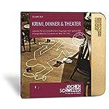 Jochen Schweizer Erlebnis-Box 'Krimi, Dinner und Theater für 2', mehr als 150 Erlebnisse für 2 Personen, Dinner-Gutschein