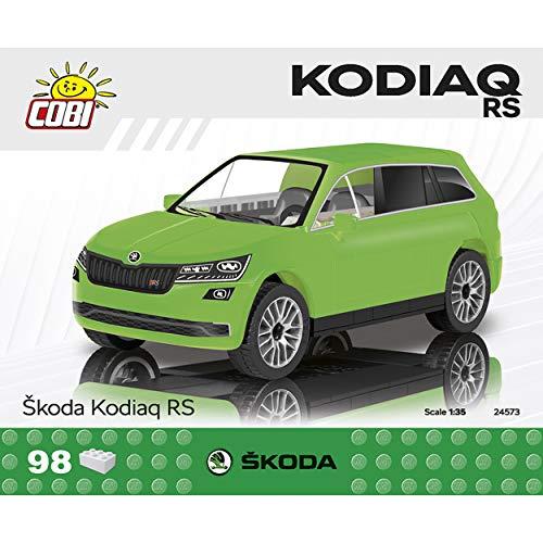 COBI Maqueta coche Skoda Kodiaq VRS, escala 1:35 (98 piezas