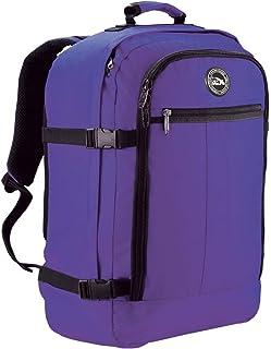 Cabin Max - Sac à dos et bagage à mains pour cabine - capacité brute de 44l - 55x40x20cm – Couleur : Violet