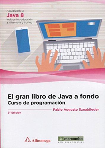 El gran libro de Java a Fondo: Curso de Programación.3º Edición: 1