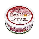IBERITOS crema de jamón york tarrina 250 gr
