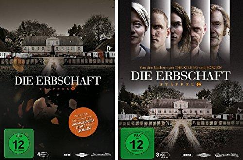 Die Erbschaft - Staffel 1+2 im Set - Deutsche Originalware [7 DVDs]