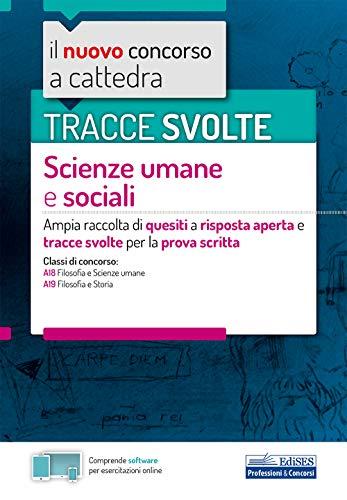 Tracce svolte scienze um. soc. Prova scritta