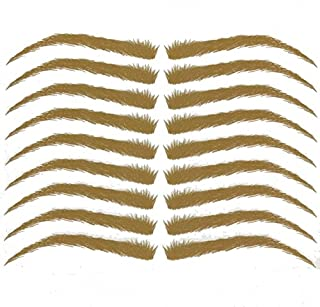 Temporary Eyebrow Tattoos #18 for Cancer, Alopecia and Hair Loss #18 Medium Golden Blonde