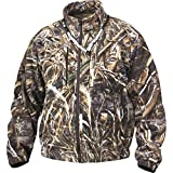 Drake MST Layering Waterproof Fleece Full Zip Jacket Max 5 Camo DW215 (Realtree Max 5, Large)