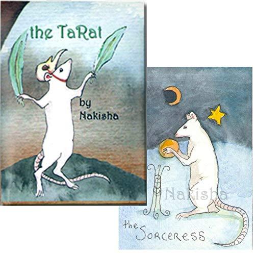【ふんわり白ねずみが主役です】ラット・タロット 日本語解説書付き The TaRat (Rat Tarot)