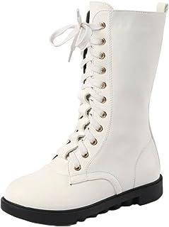 Amazon.co.uk: Girls' Boots - White