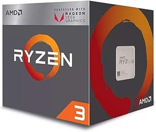 AMD Ryzen 3 2200g クアッドコア (4コア) 3.50 Ghz プロセッサー - Socket Am4 - 小売パック - 2 Mb - 4 Mb Ca