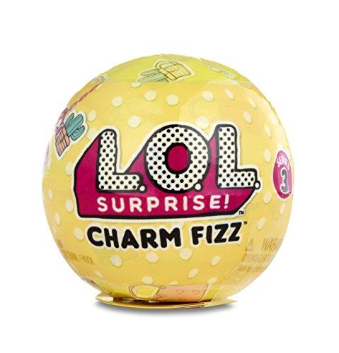 L.O.L. Surprise! L.O.Lサプライズチャームフィズシリーズ1つのミステリーボールの3セット