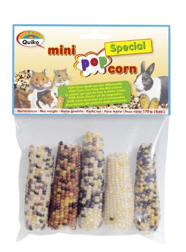 Quiko 44112 Corn mazorca de maíz para roedores, Pack de 4 uds (4 x 170 g)