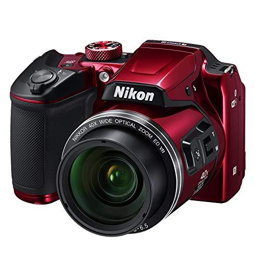 Nikon COOLPIX B500 Digital Camera (Red) International Version (No Warranty)