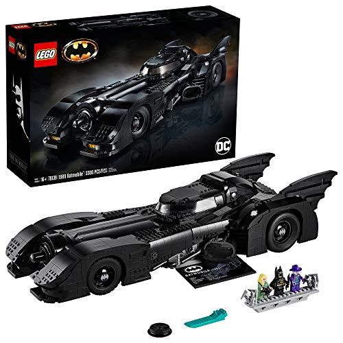 1989 Batmobile Building Kit (3,306 Pieces)