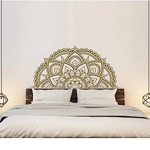 Mandala decoración de la pared del dormitorio principal medio mandala coche medio mandala ventana