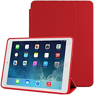 SHUHAN Tablet Accessories 3-fold Naturally Treated Smart Leather Case with Sleep/Wake-up Function & Holder for iPad Air 2(...