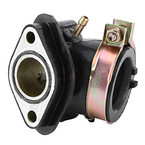 aqxreight - Colector de admisión de carburador, colector de admisión, tubo de inducción de entrada apto para ciclomotores GY6 125cc 150cc ATV Sooter