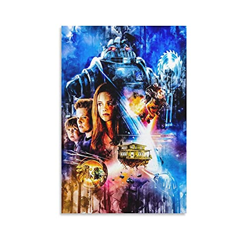 Space Adventure Movie Poster Y3-Zathura Living room bedroom corridor decoration poster coffee shop office modern popular background mural 24x36inch(60x90cm)