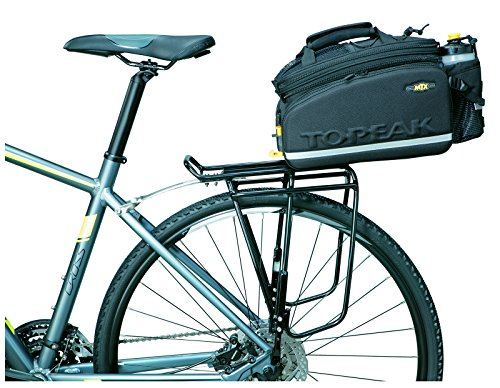 51GIU4ha2UL Topeak MTX Trunk Bag DXP Bicycle Trunk Bag with Rigid Molded Panels