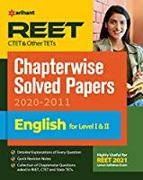REET CTET and Other TET Chapterwise Solved Papers English For Level 1 and 2 for 2021 Exam