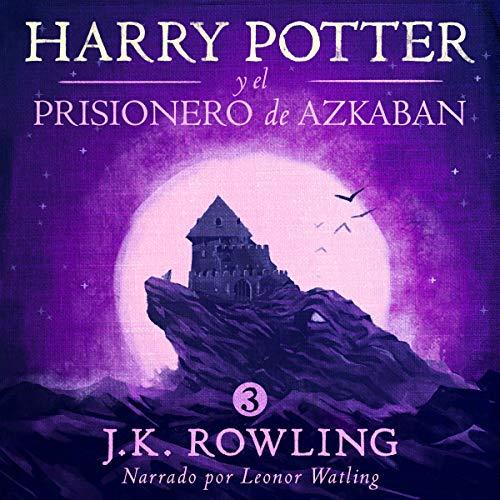 Diseño de la portada del título Harry Potter y el prisionero de Azkaban