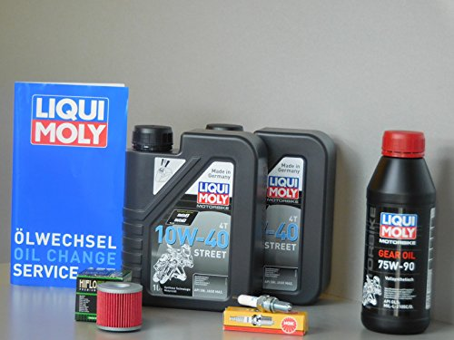Wartungs Set Kymco K-XCT 300 Öl Ölfilter Zündkerze Service Inspektion Roller