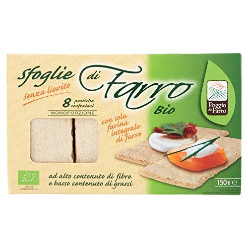 Farro Bio Sfoglie con Sola Farina Integrale - 150 gr