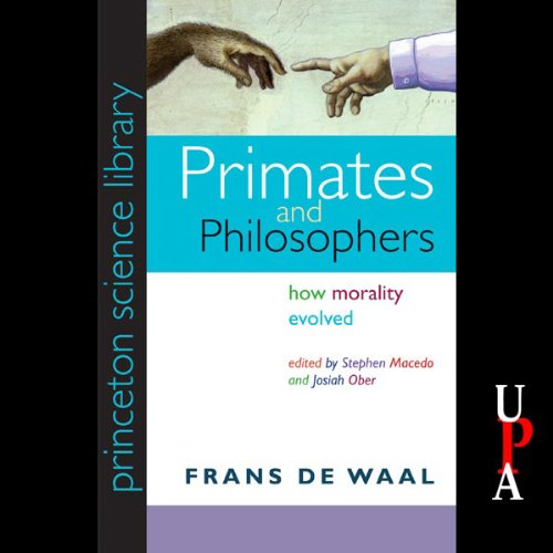 Primates and Philosophers audiobook cover art