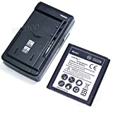 High Capacity 2850mAh Boost Mobile Samsung Galaxy Prevail LTE SM-G360P Replacement Battery Universal External Charger Cellphone
